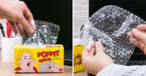 上班族必備的「抽取式泡泡紙」超紓壓 被老闆氣到「高腦壓」先抽兩張!