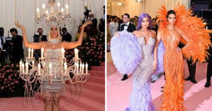 16個「時尚奧斯卡」的超戲劇化紅毯穿搭 女神卡卡「連換4套浮誇裝」粉絲感動:她回來了!