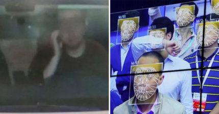 手癢男抱怨只是在「摸臉」 智能攝像頭卻誤會「開車通電話」慘被罰款…還被記警告!
