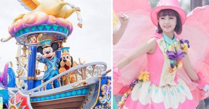 他去迪士尼意外拍到「遊行的超美女舞者」 奇蹟美照卻被網友「罵到神隱」:你很噁心!