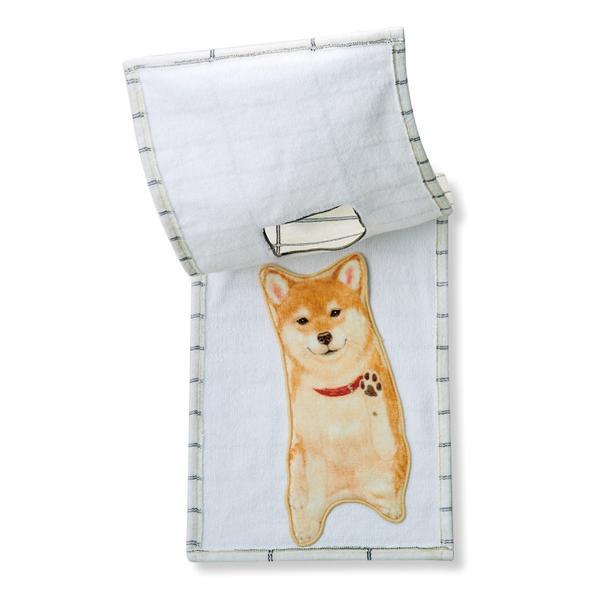 日最新治癒小物「柴犬卡住毛巾」 細心設計一翻「最萌驚喜」柴粉:錢包不爭氣打開了QQ