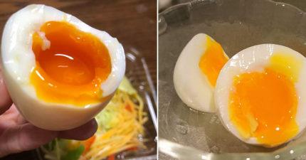 日網友傳授做出「餐廳級溫泉蛋」的秘訣 只要6分鐘就搞定!