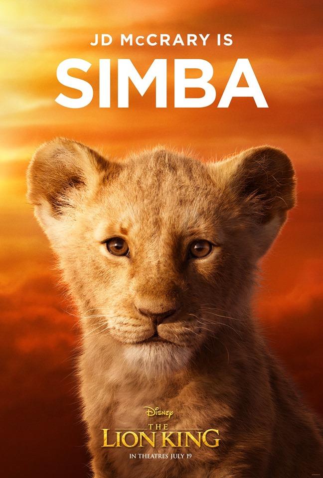迪士尼公開《獅子王》角色海報 真實版的「劣化彭彭丁滿」讓粉絲崩潰了