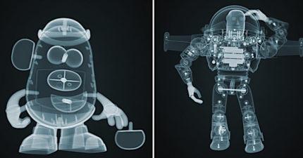 迪士尼貼心推「角色照X光海報」讓小孩不再害怕 但翠絲的「超母湯細節」網驚:會嚇哭!