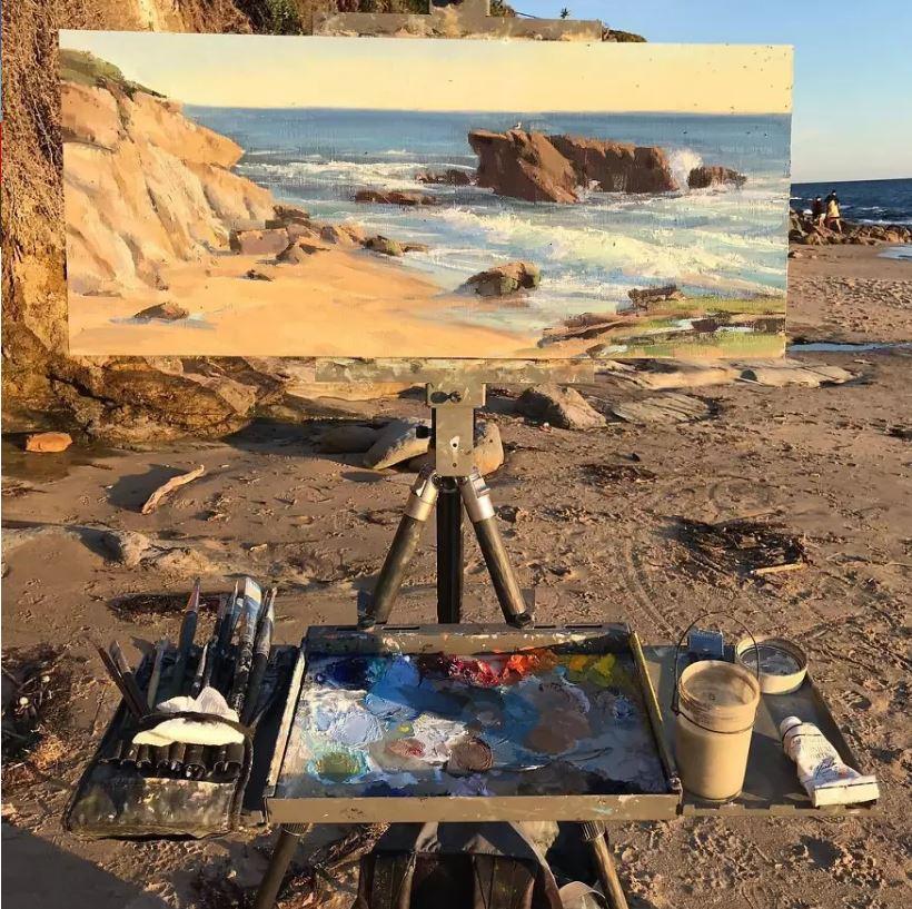 神手藝術家把作品「置入風景中」 網看「無違和美景」驚呆:找不到破綻!