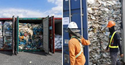 馬來西亞「霸氣拒收」國際的塑料廢物 3300噸剛抵達「直接寄回去」英國還得賠錢!