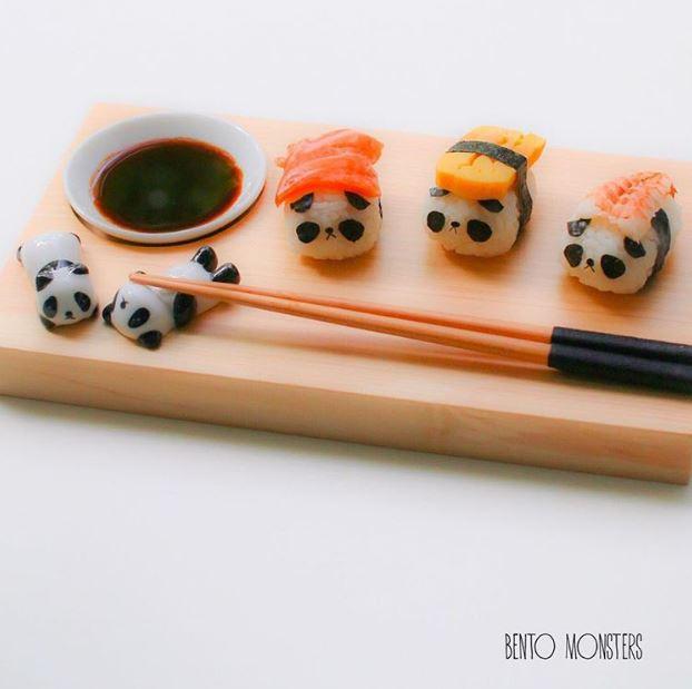 超狂媽製作「神還原卡通造型」的角色壽司 蛋黃哥把鮭魚「當被子」全網秒融化❤