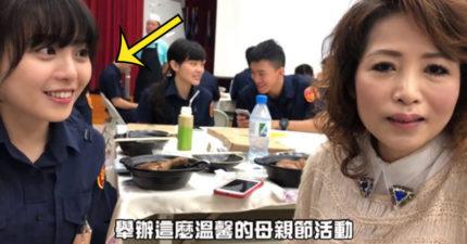 警局影片驚現「蜜糖系女警」 網搜出本尊「私下超萌笑容」秒心動:想被她逮捕!