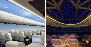 空中巴士推超狂「透明飛機」美景無死角 近距離欣賞高空閃電...抬頭就是星空!
