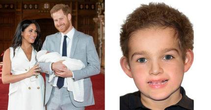 喬治小王子「神預測」表弟超保密姓名 網友合成「皇子長相」:該選喬治還是他?