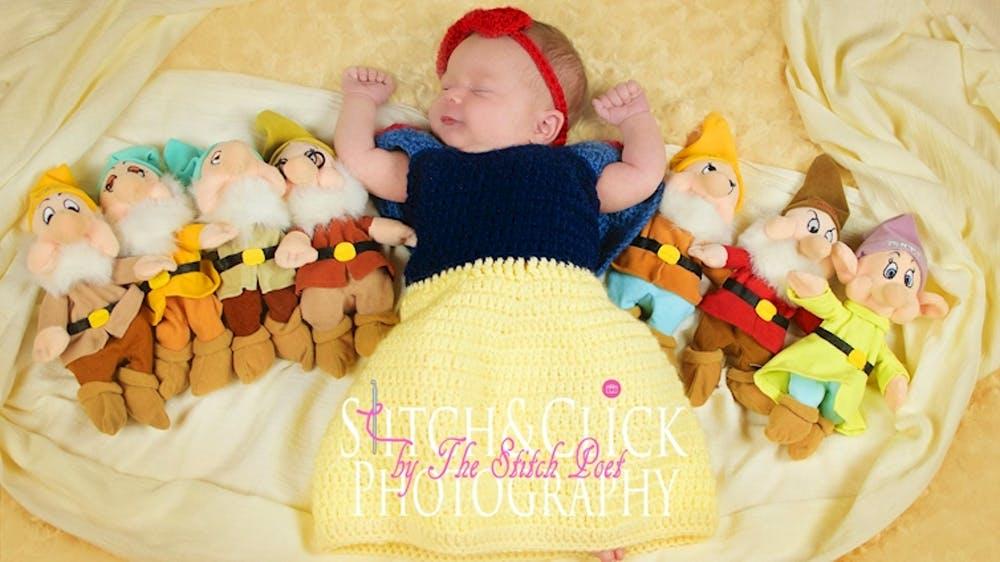 讓新生兒變「迪士尼主角」萌照大爆紅 寶寶版的「小野獸」太可愛!
