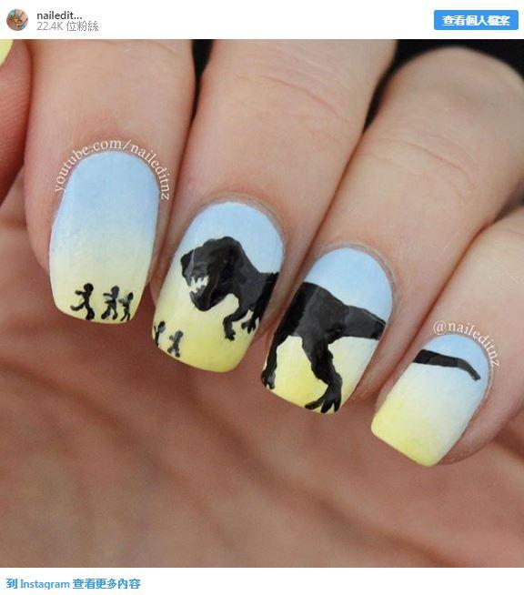 20款「你以為自己在看電影」的超狂指甲設計 5片指甲完美呈現《阿拉丁》!
