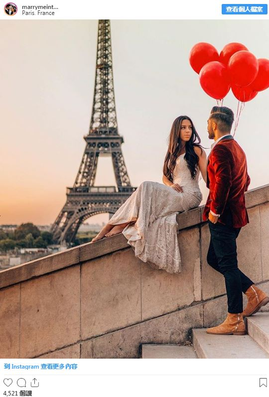 新婚夫妻「1年玩33國」超狂蜜月 每個景點都「重披戰袍」記錄!