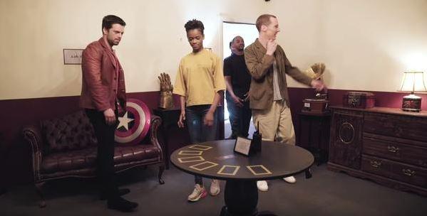 復聯英雄挑戰「密室逃脫」狂燒腦 遊戲「幕後黑手」身份曝光…網驚呼:太邪惡了!