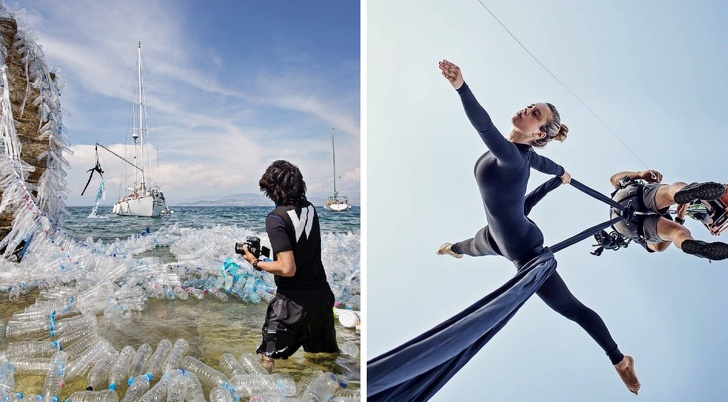 藝術家用「地球最大敵人」創作超驚人作品 材料全是我們「丟進海裡的東西」!