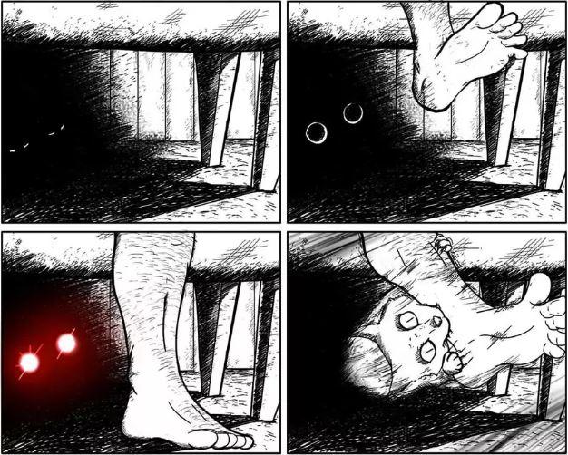 16個「只有跟貓住才會懂」的爆笑貓奴日常 貓皇「狂盯某處看」就會忍不住開始緊張!
