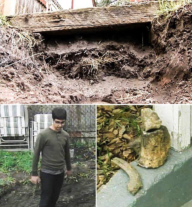 10個不小心「在家裡後院挖到」的超獵奇物品 他在家裡挖到「一台法拉利」!