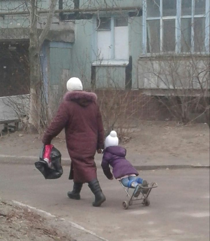 15張證明「阿嬤養的小孩超幸福」的暖心照 千萬不要穿破洞牛仔褲!