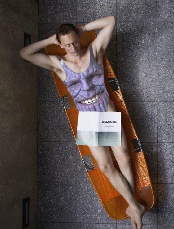 超狂品牌推「薩諾斯連身泳裝」 燦笑臉「P到洛基身上」下巴太多想像空間!