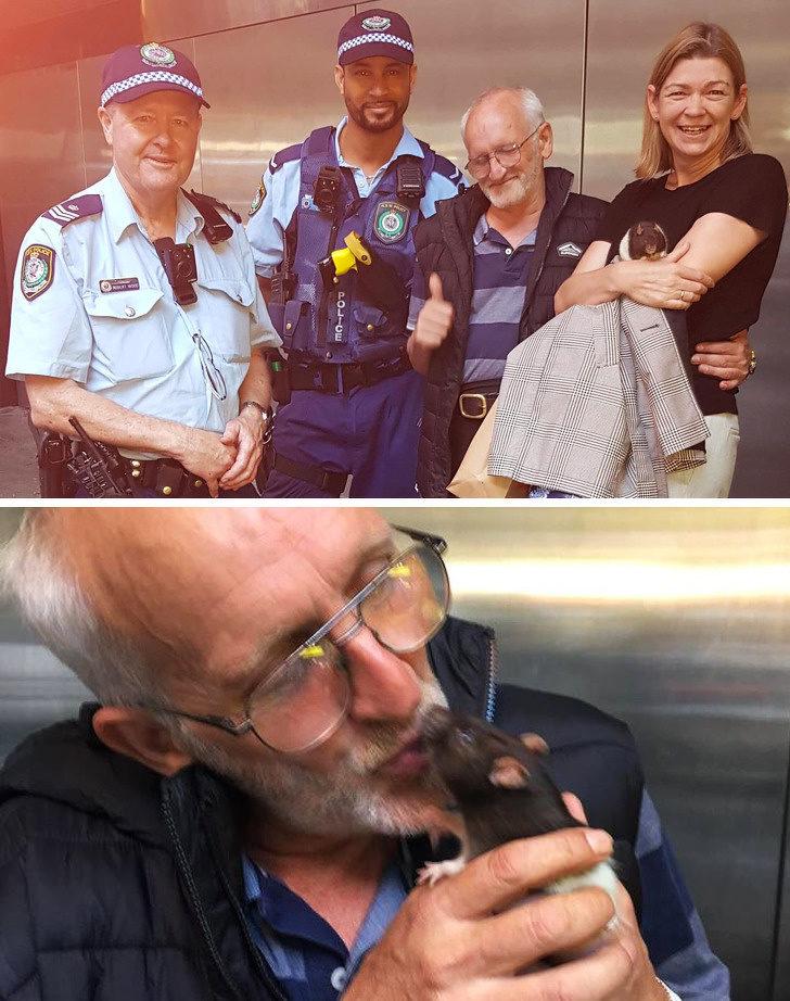 18張讓你「重新愛上這個世界」的社會暖心照 警民合作幫遊民找回「最好的朋友」!