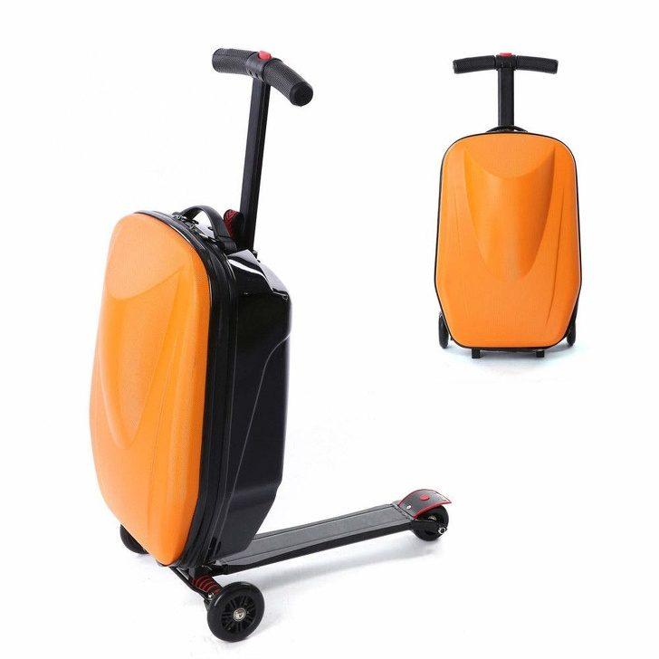 18個「讓你瞬間穿越到2075」的超偉大發明 坐行李箱趕飛機超猛!