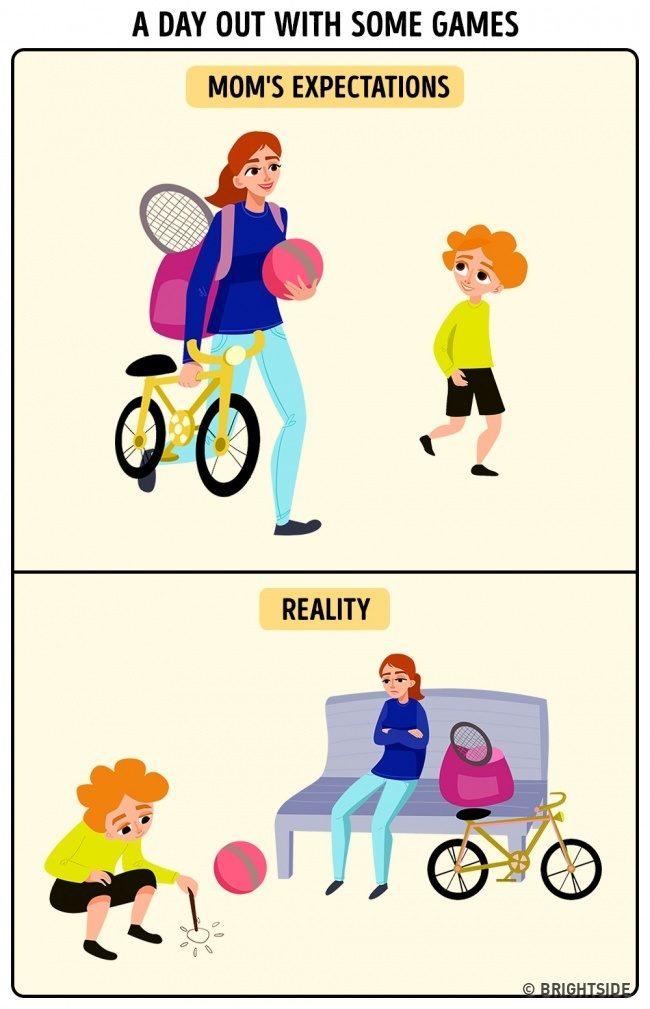 15個「當媽媽以後才懂」的超中肯漫畫 出門前搞定一切竟「被老公嫌慢」!