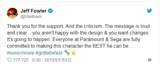 真人版《音速小子》醜到被罵翻 導演尷尬宣佈「打掉重做」:延遲3個月!