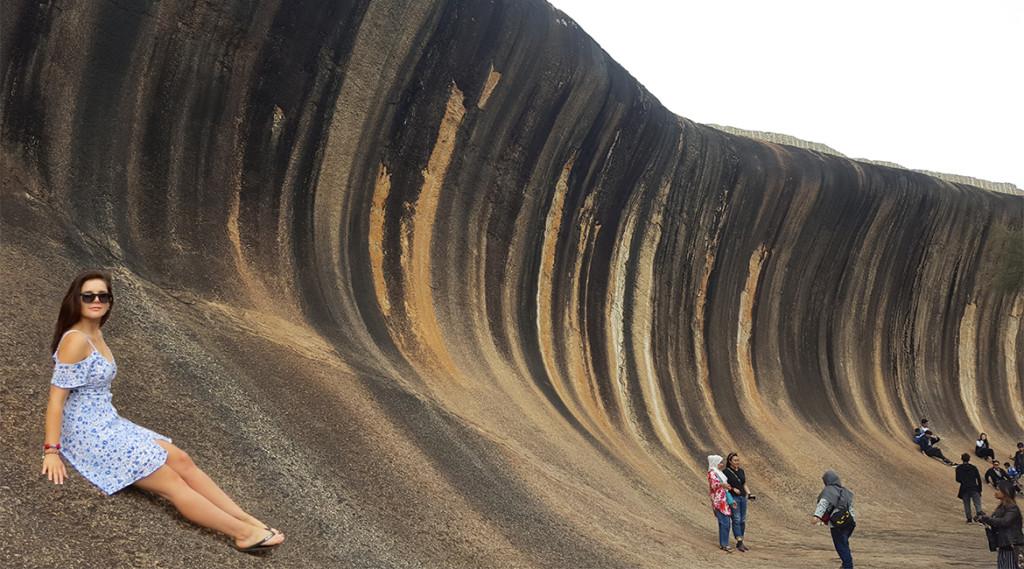 岩石做的海浪被封「世界第八大奇觀」 在地球「存在27億年」爆紅卻只因一張照片!