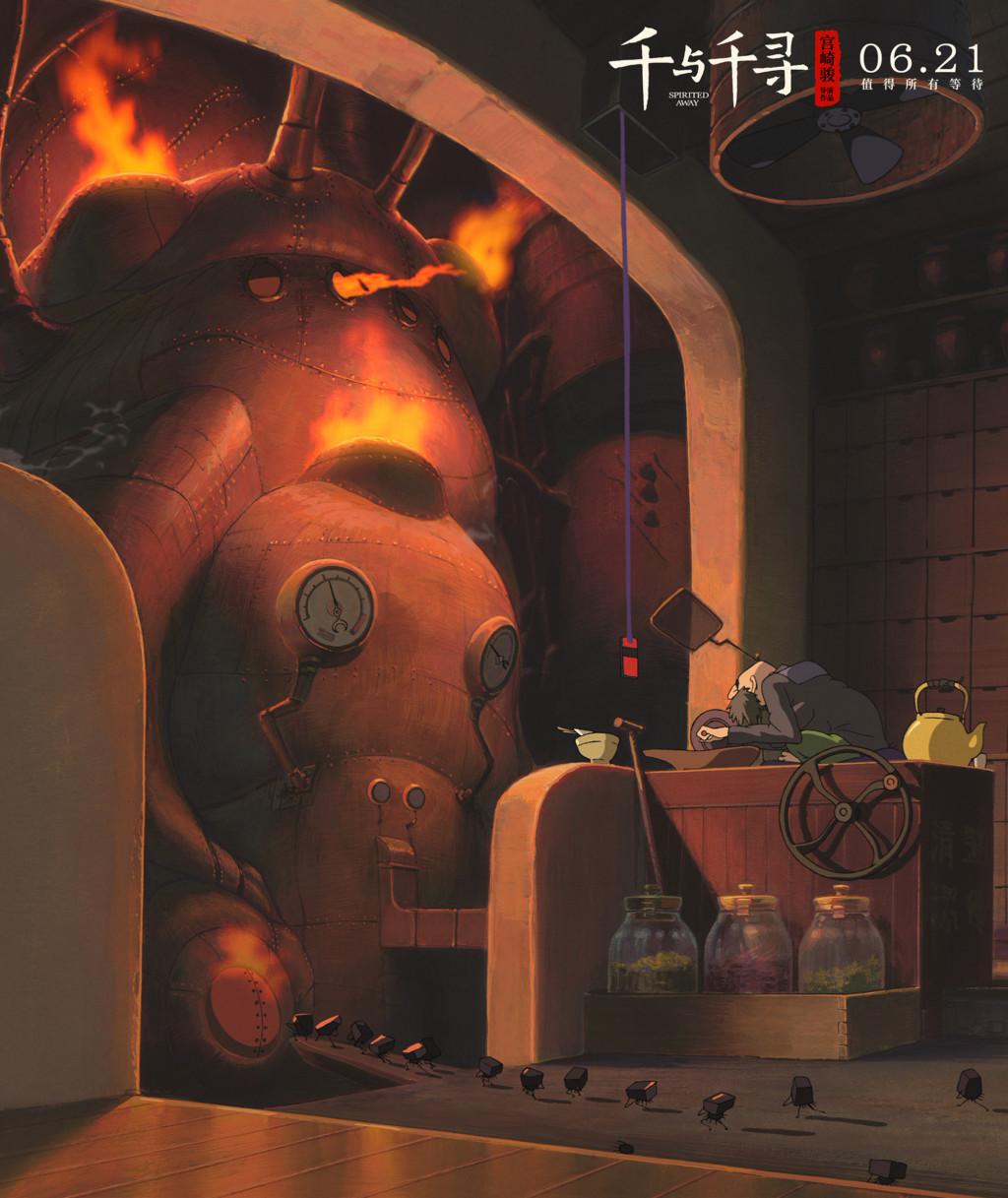 神隱世界長這樣!《神隱少女》19年首次曝光「精緻全景圖」 「油屋內部」一覽無遺網:真正的大師