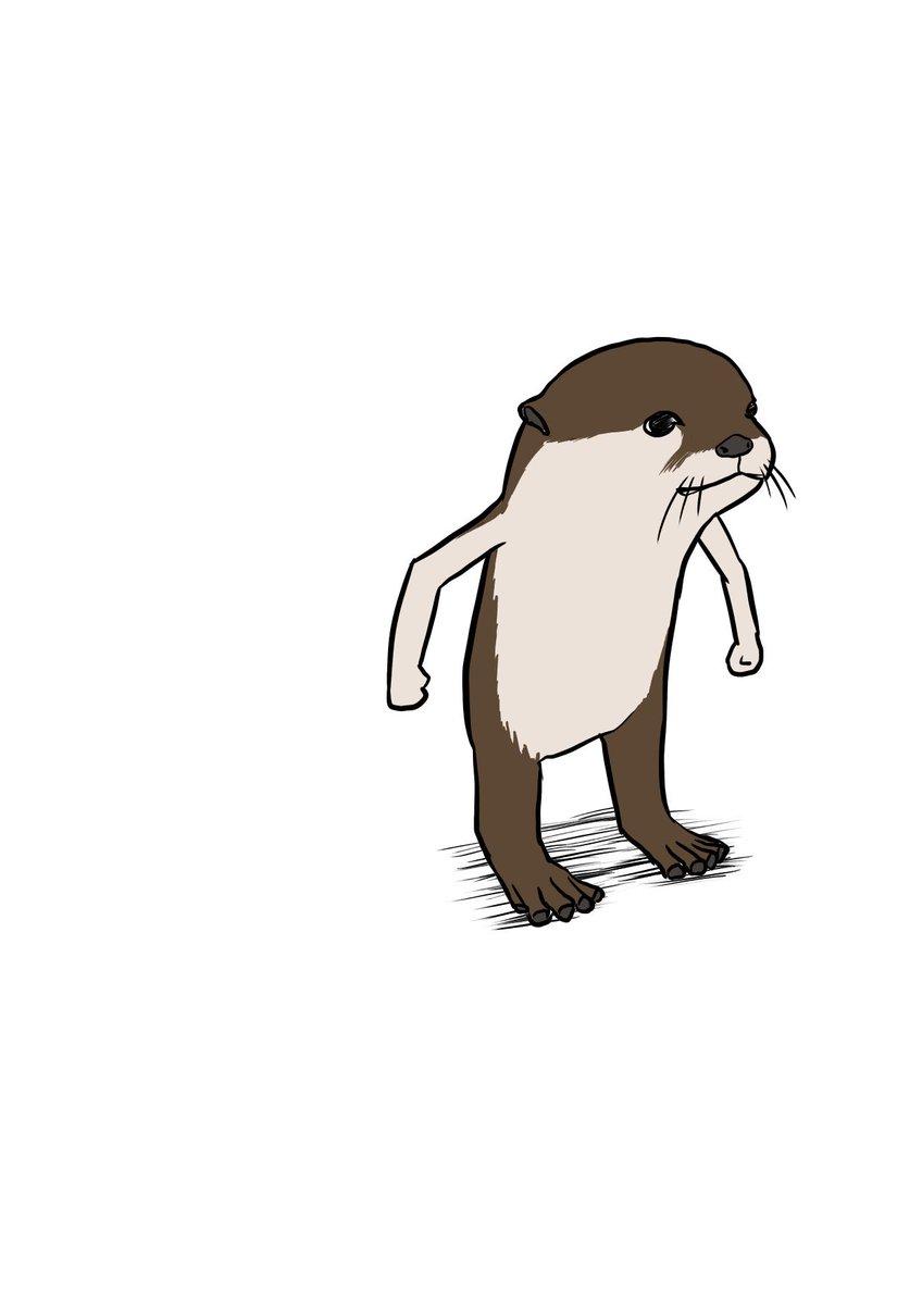 18張藝術家畫到心很累的「自我放棄插畫」 河馬莫名長了4條大長腿!