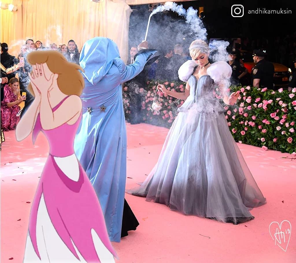 20張「當迪士尼人物走進現實」的超無違和感P圖 「反派繼母團」私下超可愛!
