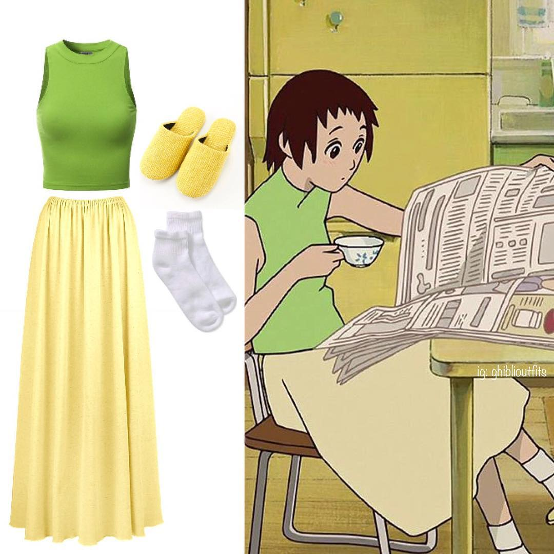 實用度超高「宮崎駿角色」真實版穿搭靈感!《霍爾》蘇菲「仙氣日常搭配」網推:想馬上入手❤