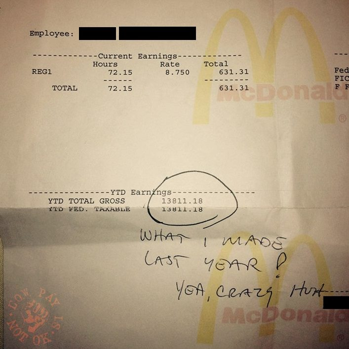 他公開自己當「麥當勞正職」的年薪 網看完超心酸:這樣還能活下去?
