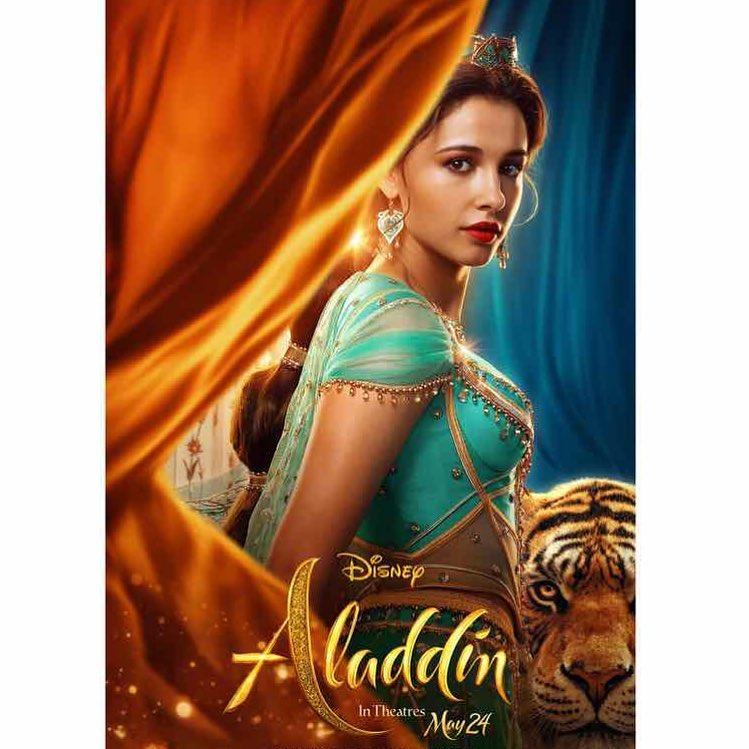 阿拉丁「真人版茉莉公主」美到上頭條 網找到「走出迪士尼的她」超驚艷!