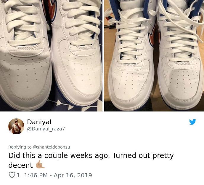 球鞋穿久了出現褶痕怎麽辦?她用「超簡單4步驟」救愛鞋被10萬網友狂讚:真的有效
