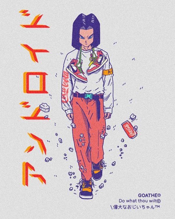 19張讓動漫角色穿上「超潮穿搭」帥氣插畫!佐助變天菜型男、香吉士意外好看~