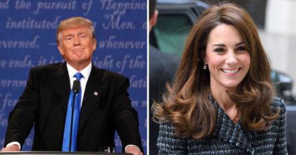 凱特被偷拍川普卻開酸「誰不想看她上空照?」 7年後「首度會面」網讚:王妃風範!