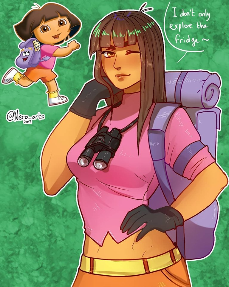 卡通角色「長大之後」會變怎樣?藝術家繪出24款「登大人」插畫 佩佩豬少女超可愛!