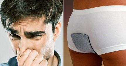 男性專用「100%吸收屁味」的專屬護墊!女友搶購送「毒氣系男友」:再抓屁給我聞啊