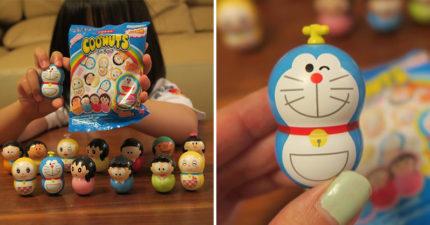 全家推「哆啦A夢」超萌不倒翁 「16款可愛角色」曝光引暴動:這個價格太佛!