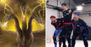 《哥吉拉2》「無特效版本」精采幕後釋出 「3頭龍基多拉」霸氣吼的真實畫面超尷尬!