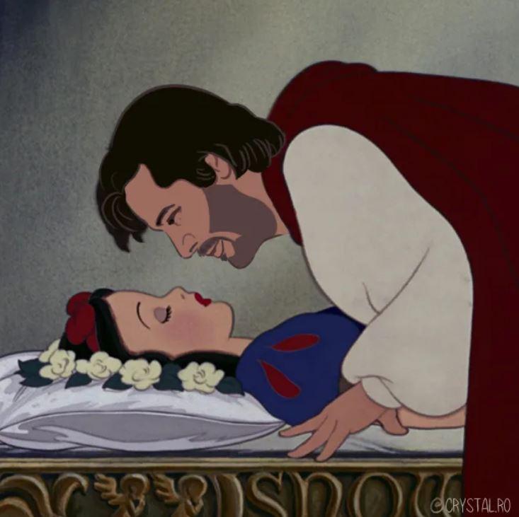 當迪士尼童話的王子「全變成基努李維」!殺神+阿拉丁居然完美融合太魔性