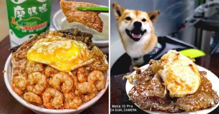 基隆隱藏美食!古早味排骨飯「爆漿半熟蛋+滿碗蝦子」爆紅 網:想吃就要乖乖排隊