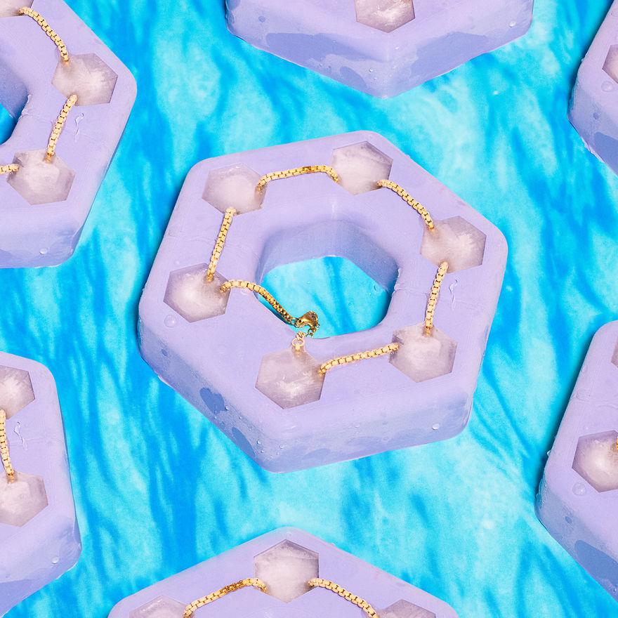 10個讓人驚呼「到底吸了什麼?」的超腦洞發明 用冰塊做項鍊...融化之後尷尬了!
