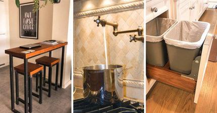 23個讓人念念不忘的「超強廚房完美設計」 小空間也能擠出一座「夢幻中島」!