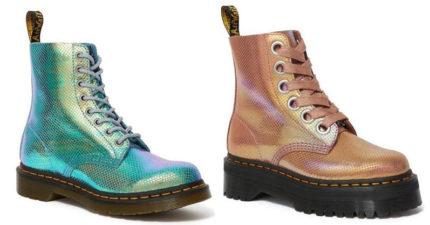 馬汀推超夢幻「獨角獸色」經典鞋款 照太陽「彩虹霓光」稀有現身!