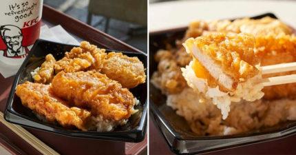 肯德基推限定版「炸物丼飯」 獨特醬汁的「酥脆麵衣」引暴動:咬下去那刻太幸福!