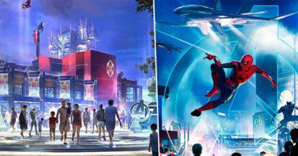 終於等到了!迪士尼宣佈打造「漫威樂園」 粉絲暴動:一定要去參觀史塔克大樓❤