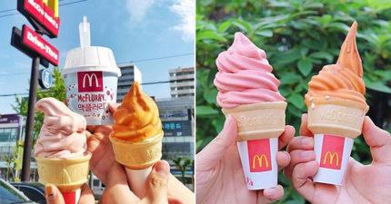麥當勞推期間限定「焦糖海鹽冰淇淋」!酥脆「超邪惡口感」融化全網:OMG❤