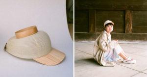 日本新發明「燈籠帽子」超文青!透氣度超高還能「拉起來」但畫面...有點獵奇